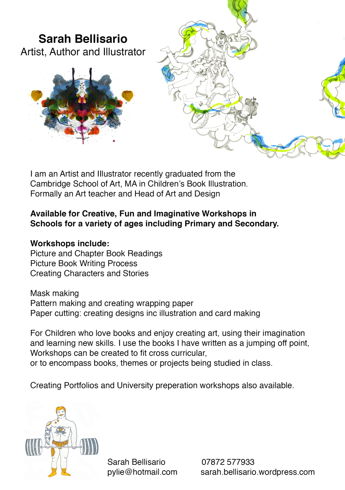 NEW: Fun and creative workshops for schools