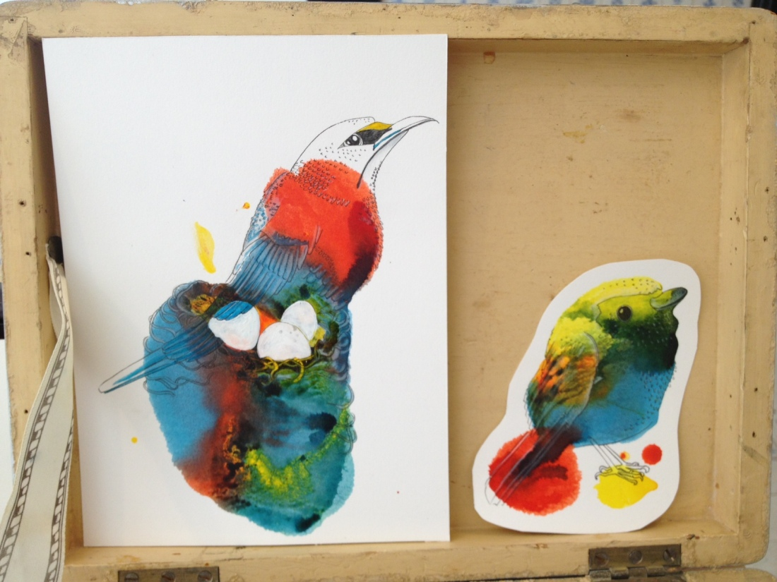 Inky Birds