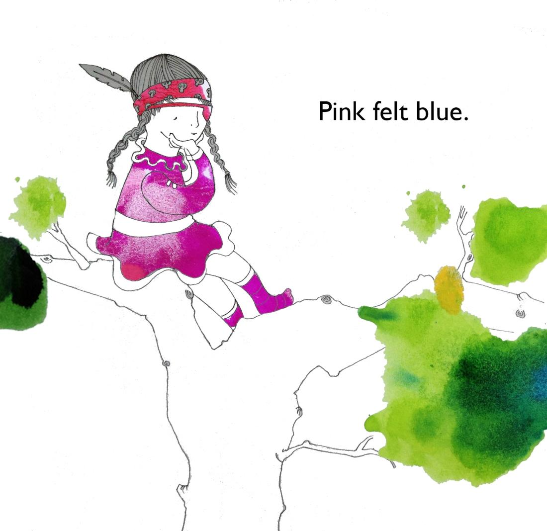 Pink felt blue!!!