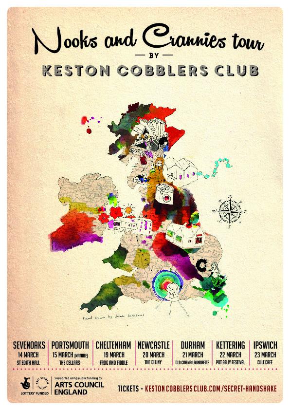 Keston Cobblers Club Tour Poster